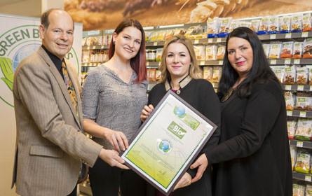 Green Brands-Zertifikat für dmBio