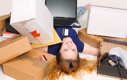 Online-Bestellungen: 15 Prozent plus bei Paketen