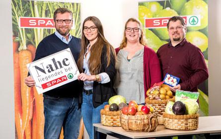 Spar setzt auf Obst- und Gemüselieferanten aus Österreich