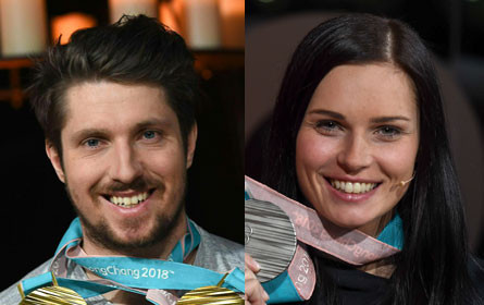 Social-Media-Stars: Hirscher und Veith