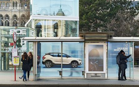 Volvo setzt auf Real Time-OOH