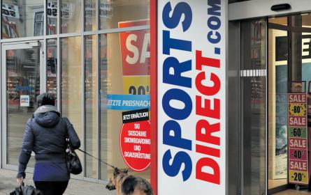 Sports Direct Austria macht Gewinn mit weniger Filialen