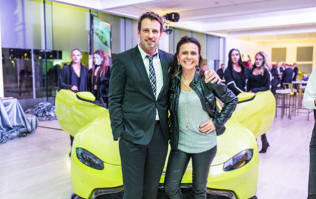 Aston Martin Vantage feiert Wien-Premiere