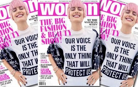 "Frauenmagazin ""Woman"" mit neuem Look"