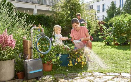 Ab in den Garten!