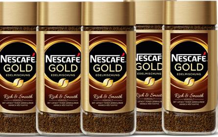 Relaunch bei Nescafé Gold