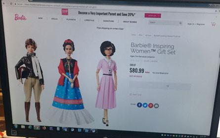 Wie Barbie den Weltfrauentag feiert