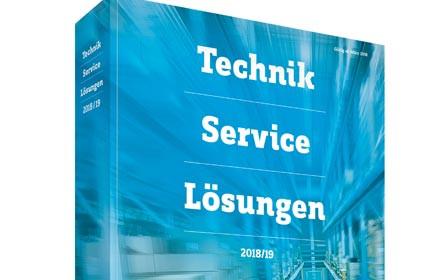 Mehr als 750.000 Produkte für Technik, Service und Lösungen 2018/19