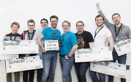 Knapp Coding Contest 2018 wird großer Erfolg