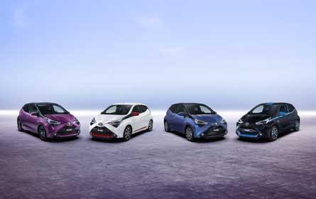 Toyota zeigt Weltneuheiten