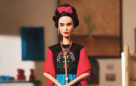 Frida Kahlo macht auf Barbie