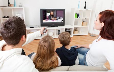 Weltweiter Fernsehkonsum trotz Internet stabil
