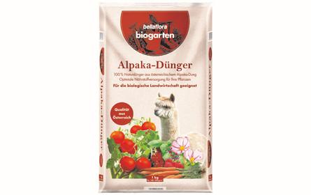 Alpaka-Dünger macht Pflanzen munter