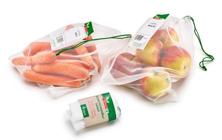 Spar bringt Mehrweg-Sackerl fürs Gemüse