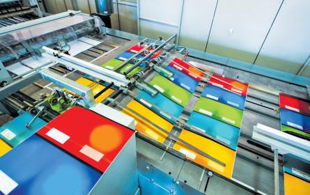 Druckereien kämpfen weiter mit Marktumfeld - Umsatzminus 2017