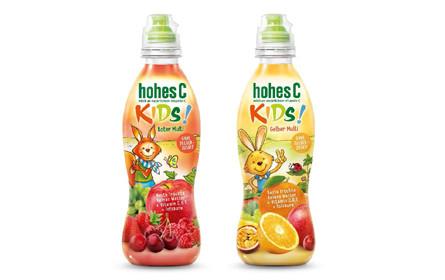 hohes C! bringt zuckerfreien Saft für Kinder