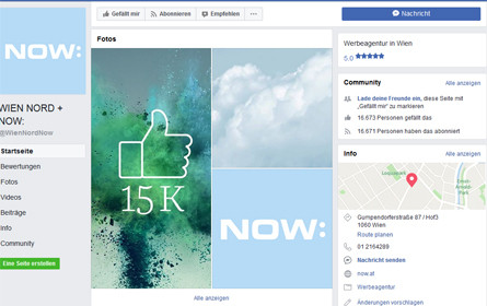 Experiment – Wien Nord Now: kauft Facebook-Fans