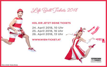 Ticketverkauf für Life Ball startet