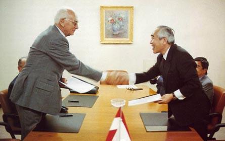 40 Jahre Mitsubishi Österreich