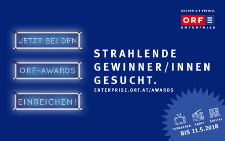 ORF-AWARDS: Große Bühne für strahlende Gewinner/innen