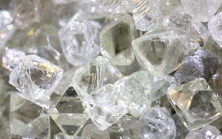 Diamantenmarkt ist unter Druck