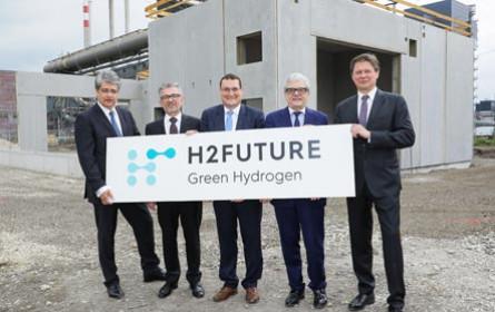 Baustart der weltweit größten Wasserstoffpilotanlage