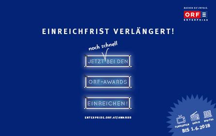 ORF-AWARDS: Letzte Chance für strahlende Gewinner/innen