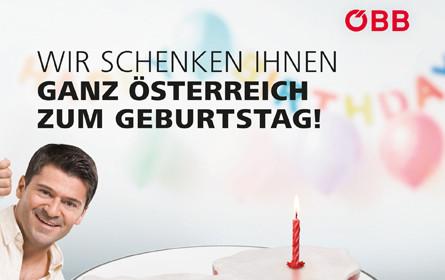 ÖBB startet heute neue Werbekampagne für ÖBB Vorteilscard