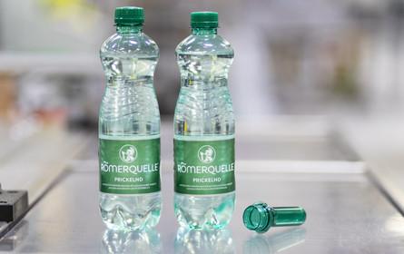 Römerquelle PET-Flaschen auf Sparkurs