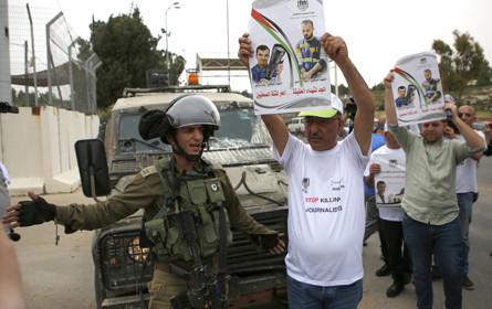 """Reporter ohne Grenzen wirft Israels Armee """"Kriegsverbrechen"""" gegen Journalisten vor"""