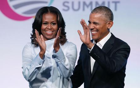 Obamas mit Netflix über Produktionen einig
