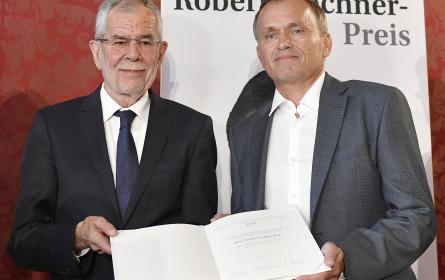 FPÖ-Angriffe dominierendes Thema bei Vorhofer- und Hochner-Preis