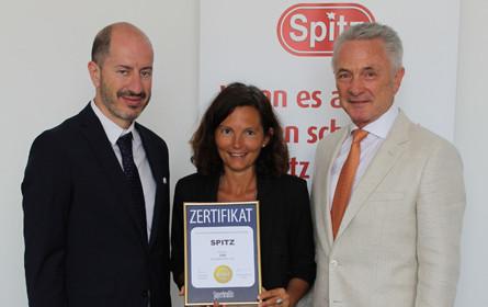 Spitz erhält den Superbrands Austria Award