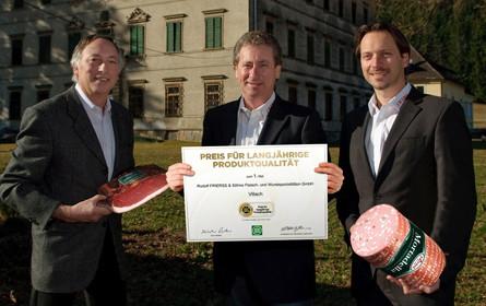 DLG Spezialpreis für Rudolf Frierss & Söhne