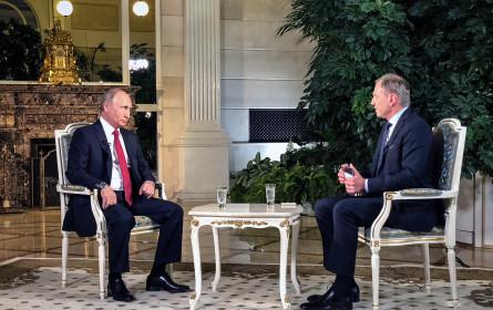 """Wolf: Putin """"ungewöhnlich schwieriger Gesprächspartner"""""""