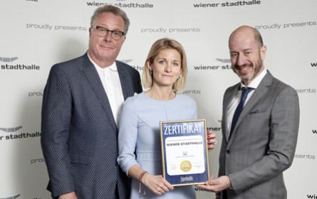 Superbrands-Award für die Wiener Stadthalle