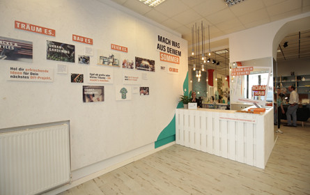 Baumarktkette Obi eröffnet Pop-Up-Kreativwerkstatt