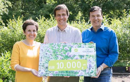 Gourmet Kids spendet 10.000 Euro zur Rettung der City Farm