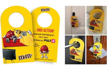 M&M's versüßt den Hauptabend auf Puls 4