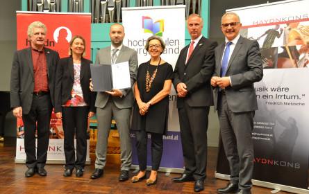 Burgenländischer Hochschulpreis 2018 verliehen