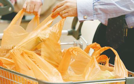 122 Millionen Plastiksackerl eingespart