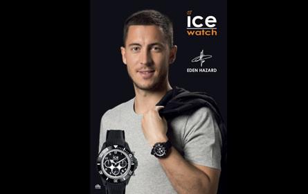 Fußball-Star Eden Hazard ist neuer ice-watch Markenbotschafter