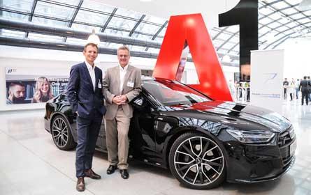 A1 und die Porsche Holding Salzburg setzen auf gemeinsame Innovation