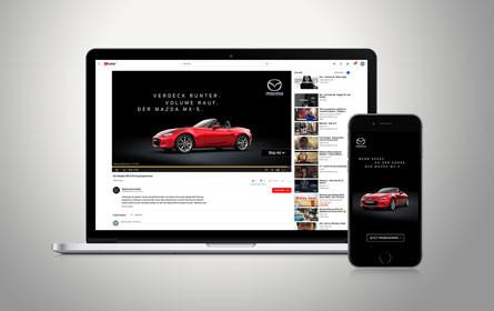 Neue Digital-Kampagne von Tunnel23 für Mazda