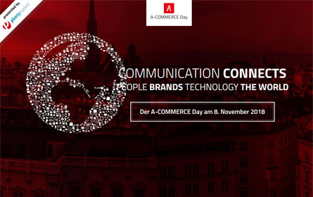 "A-Commerce Day unter dem Motto: ""Communication Connects"""