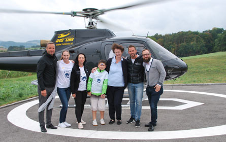 Child & Family verwirklicht den Traum vom Fliegen