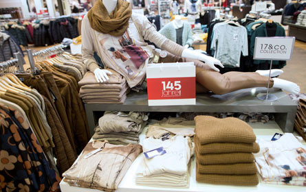 Schwierige Zeiten im Bekleidungshandel
