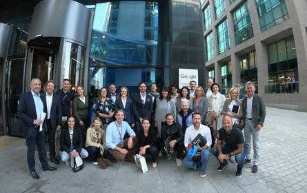 Österreichs Tourismus zu Besuch bei Google, Facebook & Co.
