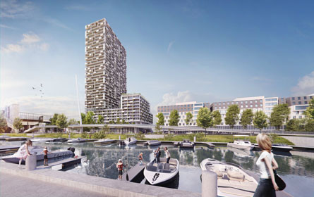 Marina Tower: Jetzt wird gebaut