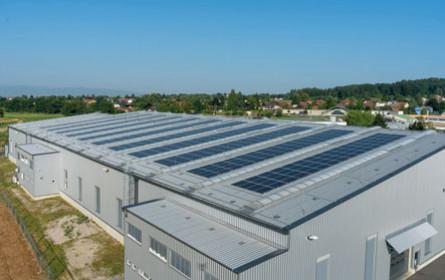 Knapp AG errichtet Photovoltaikanlage am Firmengelände